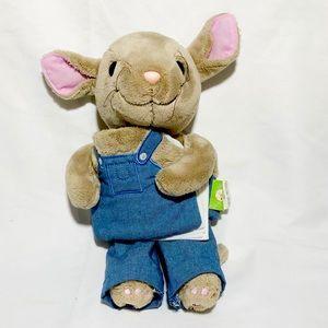 Zoobies mouse plush storytelling book kid story